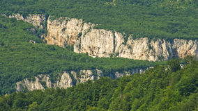 Lazar's gorge, one of the most inaccessible places in Serbia Royalty Free Stock Photography
