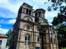 Lazarica教会从XIV世纪 免版税库存照片