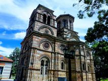 Lazarica Church from XIV century royalty free stock photo
