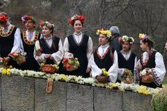Lazarki in Bulgarien Lizenzfreie Stockfotos