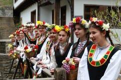 Lazarki in Bulgarien Stockfotografie