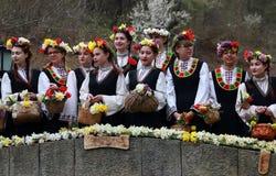 Lazarki in Bulgarien Stockfoto