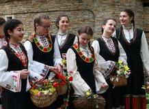 Lazarki en Bulgaria Fotos de archivo