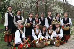 Lazarki en Bulgaria Foto de archivo