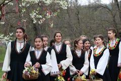 Lazarki en Bulgaria Imagen de archivo