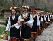 Lazarki en Bulgaria Foto de archivo libre de regalías