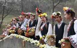 Lazarki en Bulgaria Imágenes de archivo libres de regalías