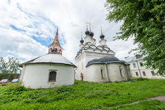 Lazarus Church in Suzdal Royalty Free Stock Images