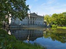 Lazenki palace, Warsaw, Poland Stock Image