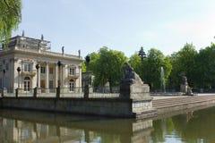 Lazenki palace, Warsaw, Poland Stock Photos