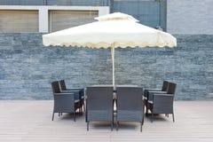 Lazer ao ar livre do café Fotografia de Stock