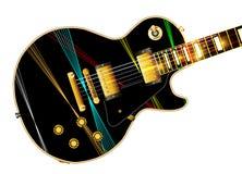 Lazer Beam Guitar Stock Photos
