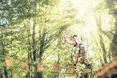 Lazer da aventura do verão em Albânia Imagem de Stock