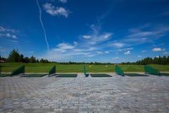 Lazer do active do curso do clube de golfe Fotografia de Stock