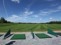 Lazer do active do golfe Fotografia de Stock