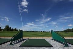 Lazer do active do golfe Fotos de Stock Royalty Free