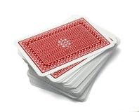 Lazer do jogo do jogo do póquer dos cartões de jogo Imagens de Stock Royalty Free