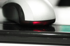 Lazer mouse computer Stock Photography