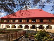 Lazi Convent. One of the oldest convents in Lazi, Siquijor Royalty Free Stock Image