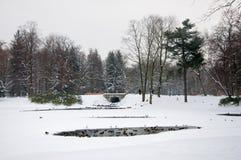 Lazienki公园 免版税库存照片