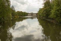 Lazienki宫殿,华沙 库存图片