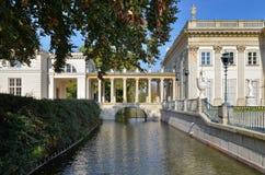 lazienki pałac Warsaw Obrazy Royalty Free
