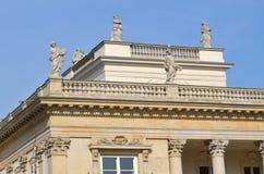 lazienki pałac Warsaw Zdjęcie Stock