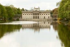 Lazienki pałac, Warszawa Obraz Royalty Free