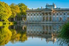 Lazienki pałac, Warszawa, Polska Zdjęcia Stock