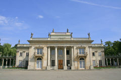 Lazienki Palace Stock Photography