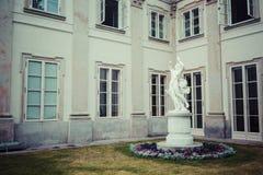 The Lazienki palace in Lazienki Park, Warsaw. Lazienki Krolewski Stock Photos