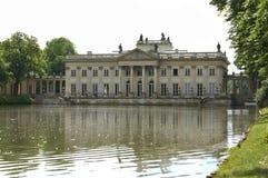 Lazienki palace in Warsaw. Poland Stock Image
