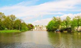 Lazienki Palace, Warsaw. Stock Image