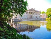 Lazienki Palace, Warsaw. Royalty Free Stock Image