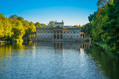 Lazienki palace, Warsaw, Poland Stock Image