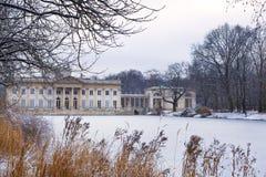 Lazienki palace  in Warsaw, Poland Stock Photo
