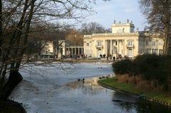 Lazienki – Palace on Water. Warsaw, Poland. Royalty Free Stock Photo