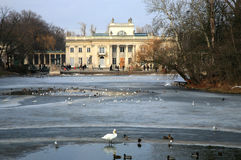 Lazienki – Palace on Water. Warsaw, Poland. Stock Images