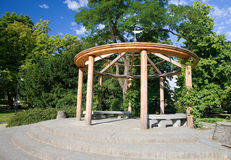 Lazienki Park Stock Images