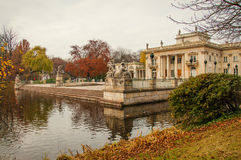 Lazienki Park Royalty Free Stock Photography