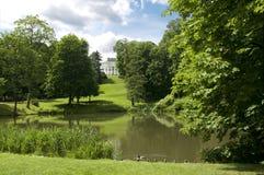 Lazienki Park Royalty Free Stock Image