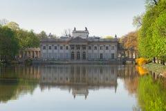 Lazienki park, Warsaw, Poland Royalty Free Stock Photography