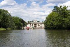 Lazienki park - Warsaw. Lazienki park - Royal Baths Park in Warsaw royalty free stock image