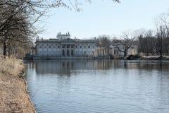 Lazienki Park in Warschau Lizenzfreies Stockfoto