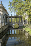 Lazienki Park in Warschau Lizenzfreies Stockbild