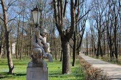 Lazienki park, Warszawa, Polska Obrazy Stock
