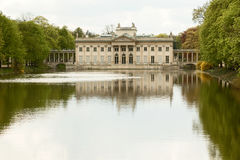 Lazienki slott, Warszawa Royaltyfri Bild