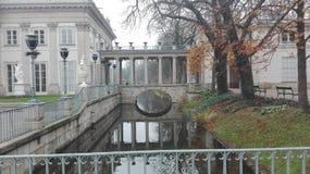 Lazienski公园华沙 库存照片