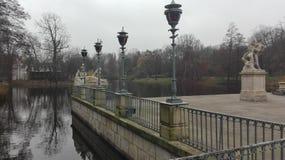 Lazienski-Park Lizenzfreie Stockfotografie