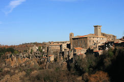 Lazio village Royalty Free Stock Photography